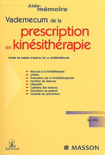 encyclopedie kinesitherapie